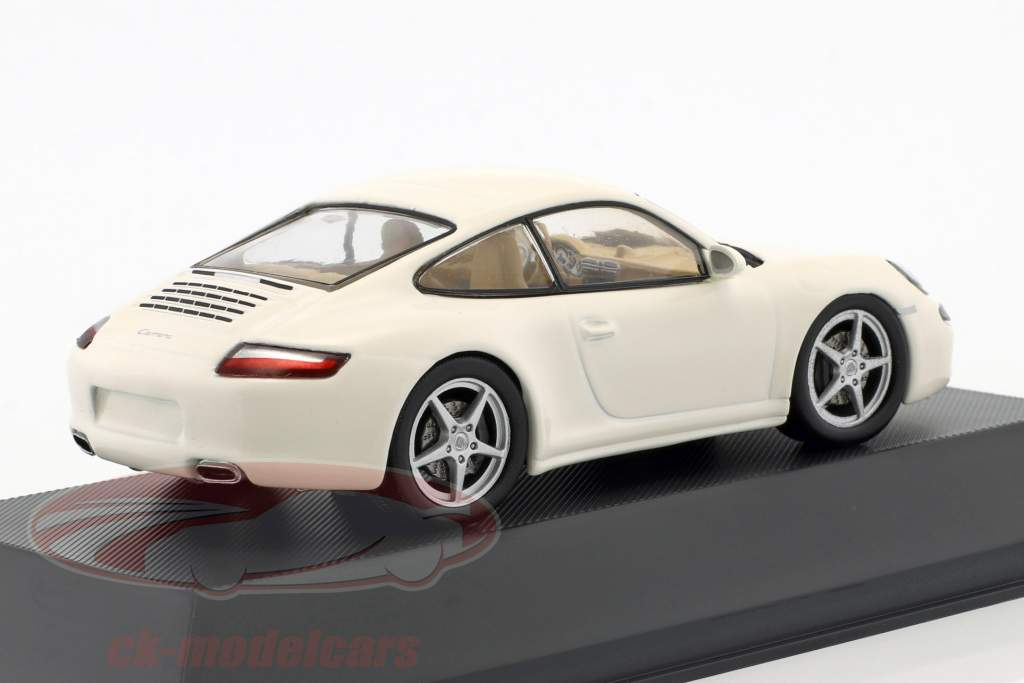 Porsche 911 (997) Carrera Opførselsår 2004 hvid 1:43 Atlas