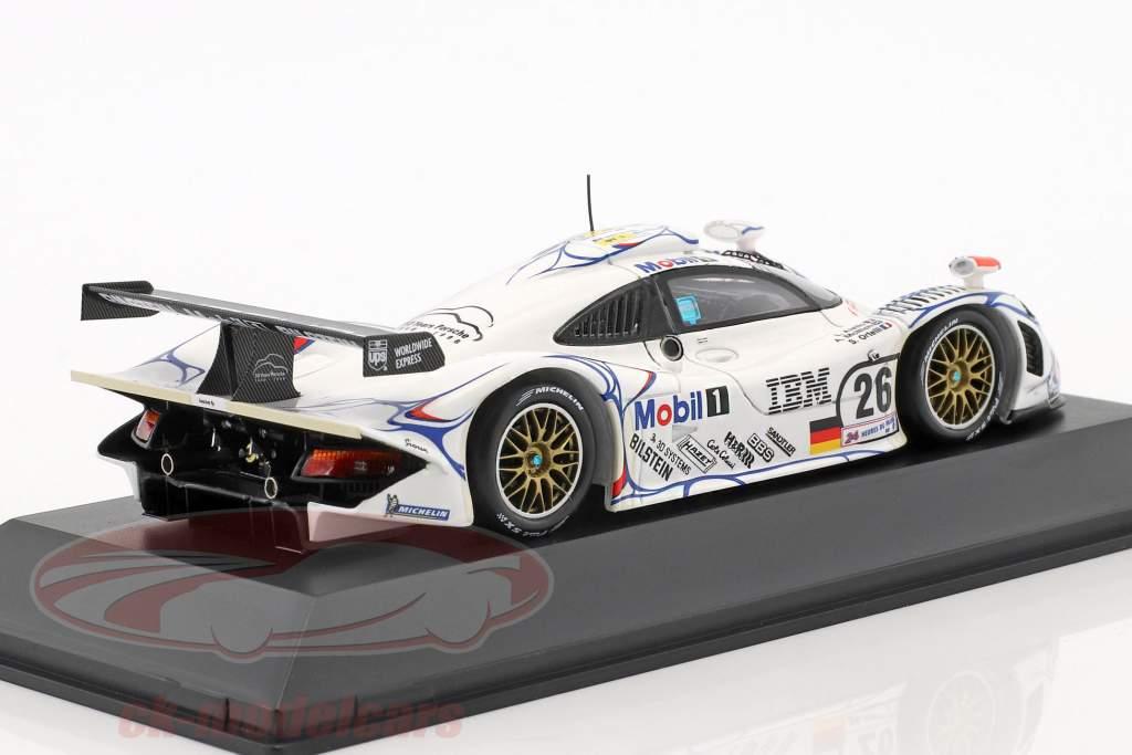 Porsche 911 GT1 #26 Winnaar 24h LeMans 1998 McNish, Aiello, Ortelli 1:43 Spark