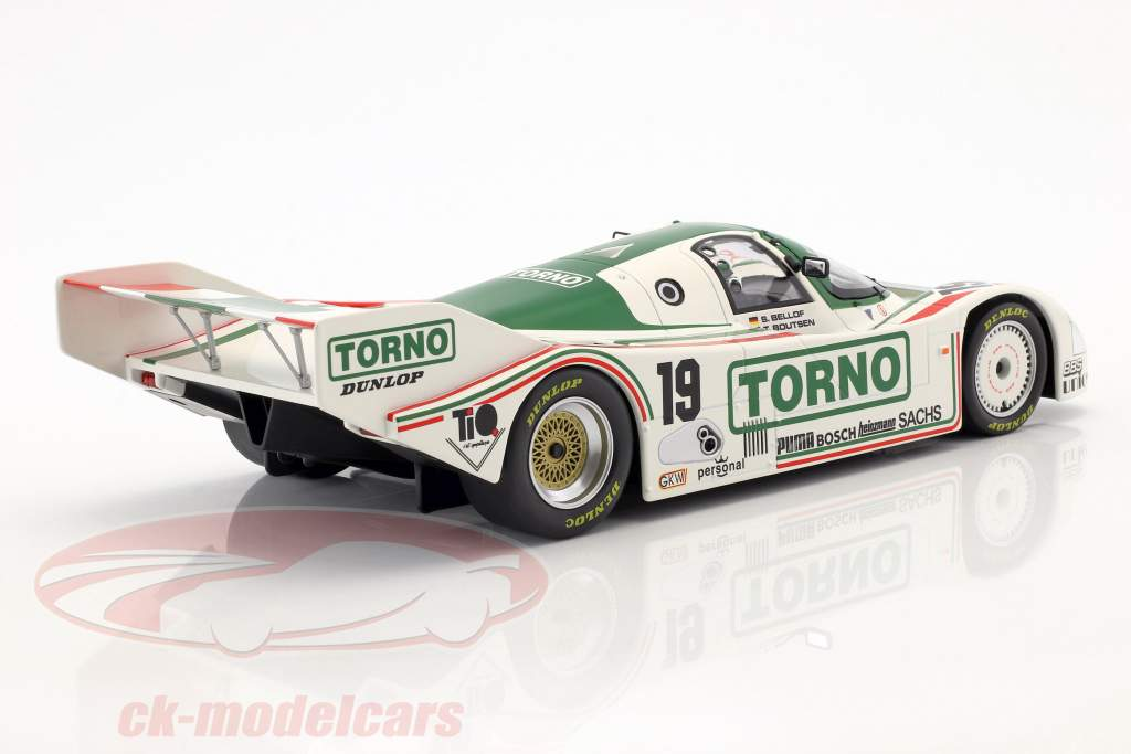 Porsche 962 C #19 3rd 1000km Mugello 1985 Bellof, Boutsen 1:18 Norev