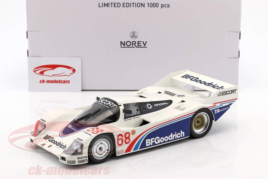 Porsche 962 IMSA #68 gagnant Riverside 1985 Halsmer, Morton 1:18 Norev
