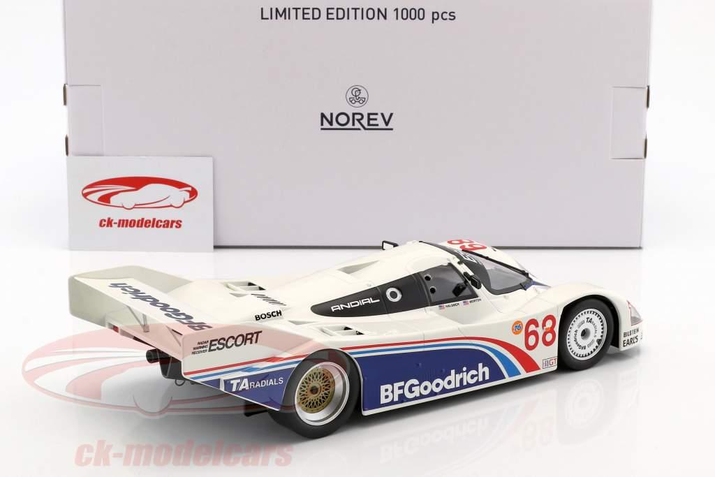 Porsche 962 IMSA #68 vencedor Riverside 1985 Halsmer, Morton 1:18 Norev