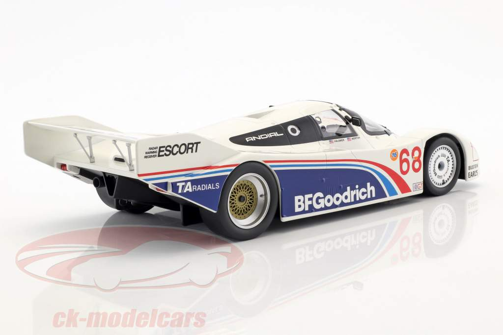 Porsche 962 IMSA #68 vincitore Riverside 1985 Halsmer, Morton 1:18 Norev