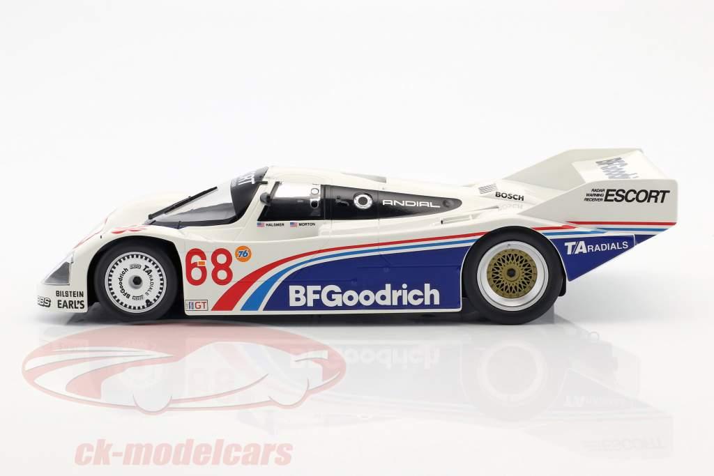 Porsche 962 IMSA #68 Vinder Riverside 1985 Halsmer, Morton 1:18 Norev