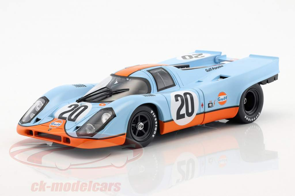 Porsche 917K #20 24h LeMans 1970 Siffert, Redman Upgraded Version 1:18 Norev