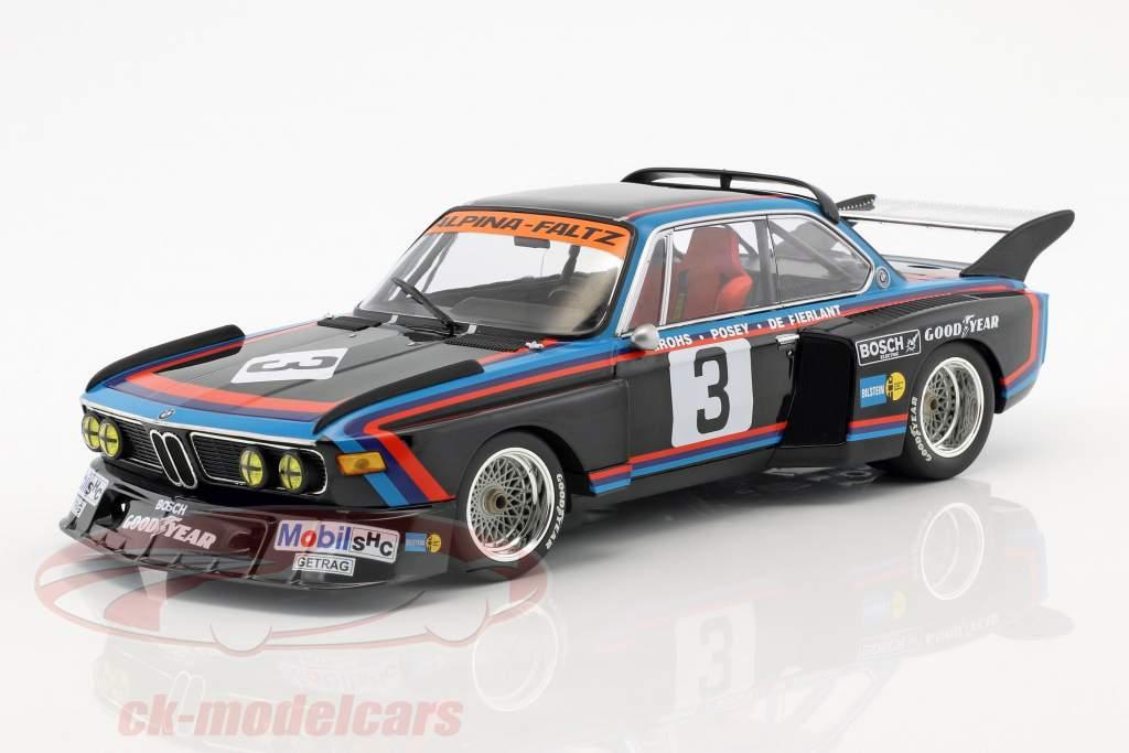 BMW 3.5 CSL #3 cuarto 6h Silverstone 1976 de Fierlant, Grohs 1:18 Minichamps