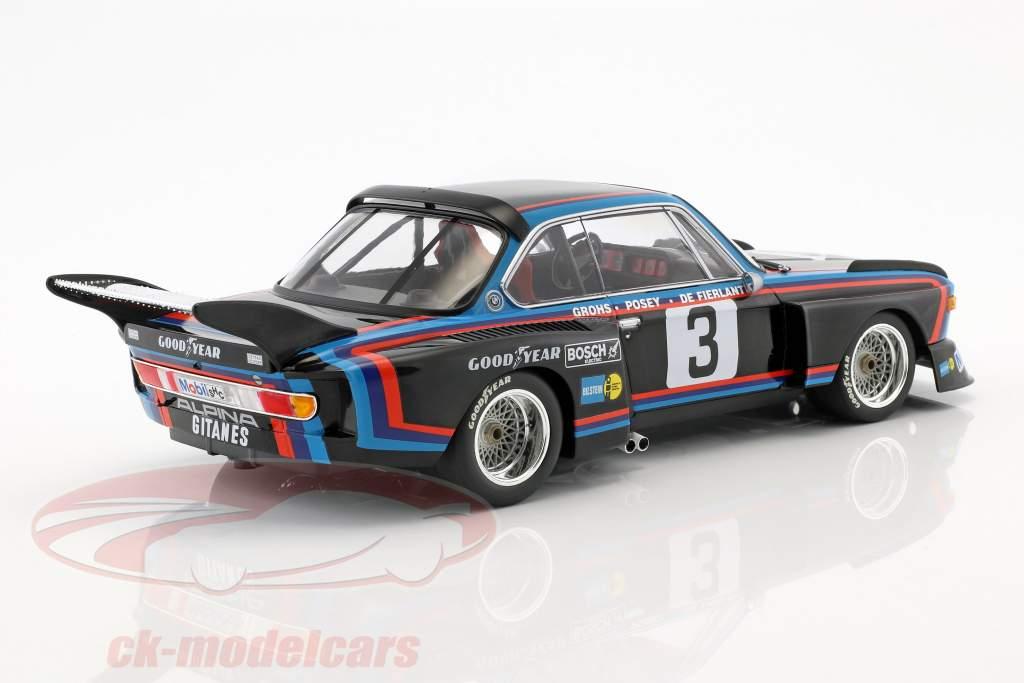 BMW 3.5 CSL #3 4 6h Silverstone 1976 de Fierlant, Grohs 1:18 Minichamps