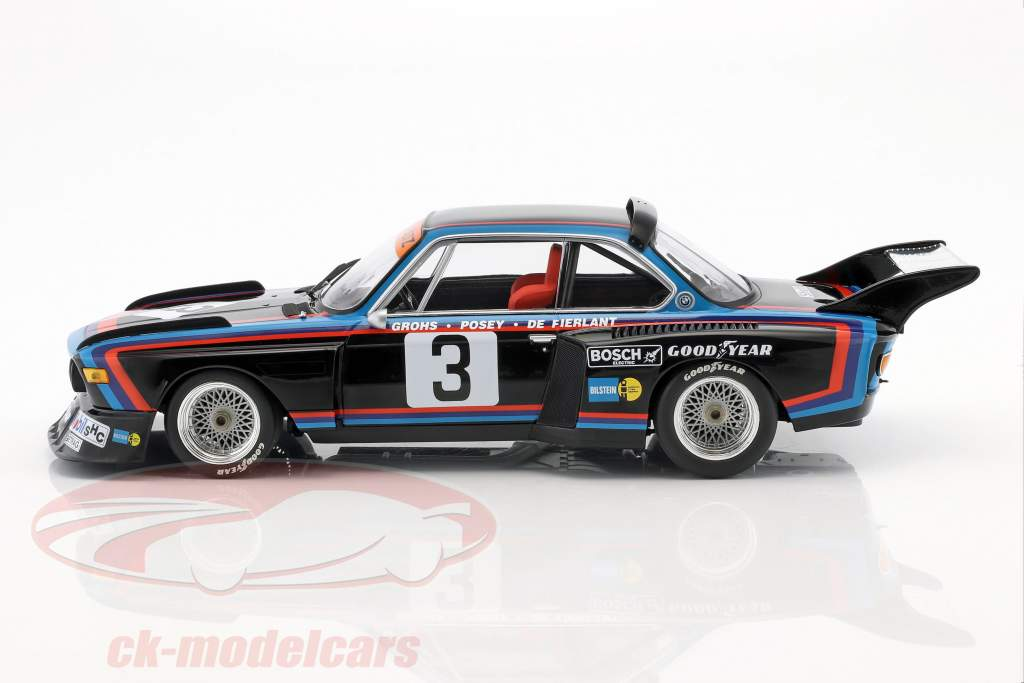 BMW 3.5 CSL #3 4th 6h Silverstone 1976 de Fierlant, Grohs 1:18 Minichamps