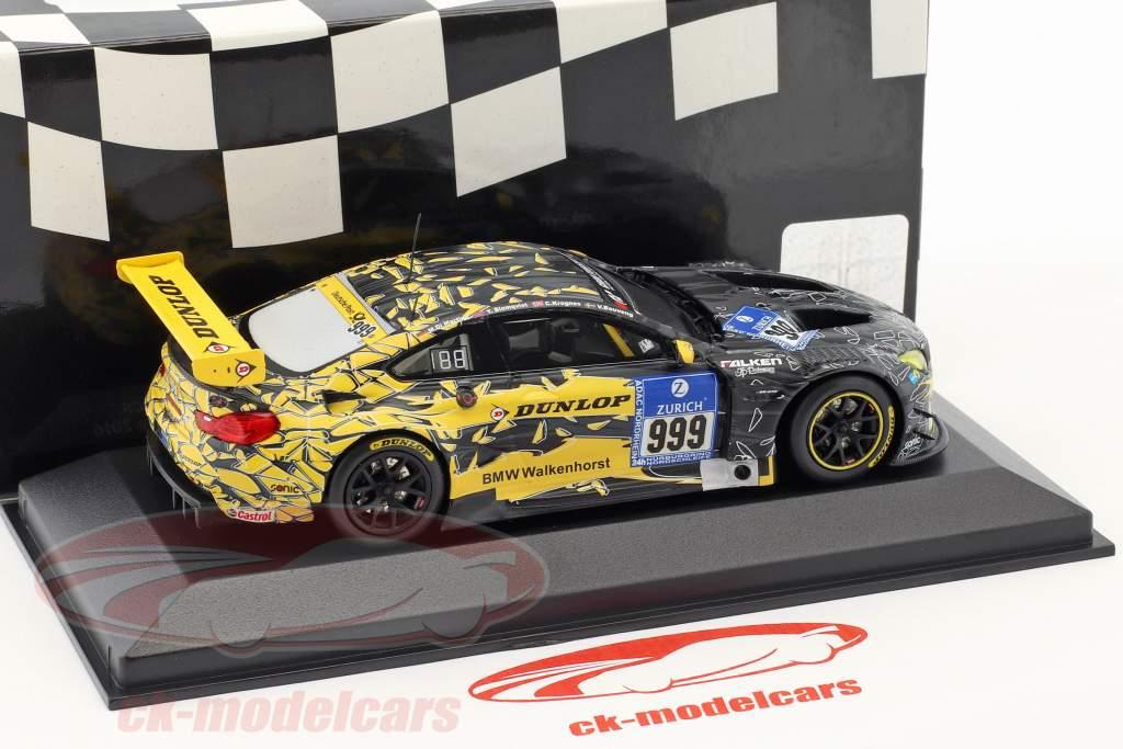 BMW M6 GT3 #999 24h Nürburgring 2016 Walkenhorst Motorsport 1:43 Minichamps