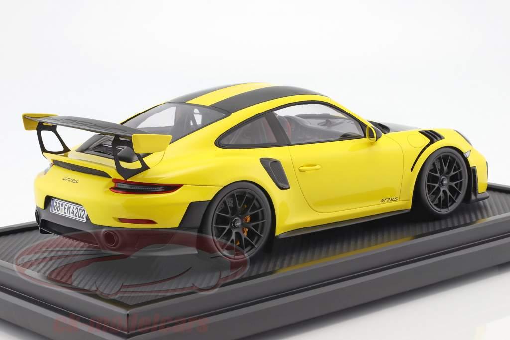 Porsche 911 (991 II) GT2 RS record du tour Nürburgring 2017 6:47,3 min 1:12 Spark