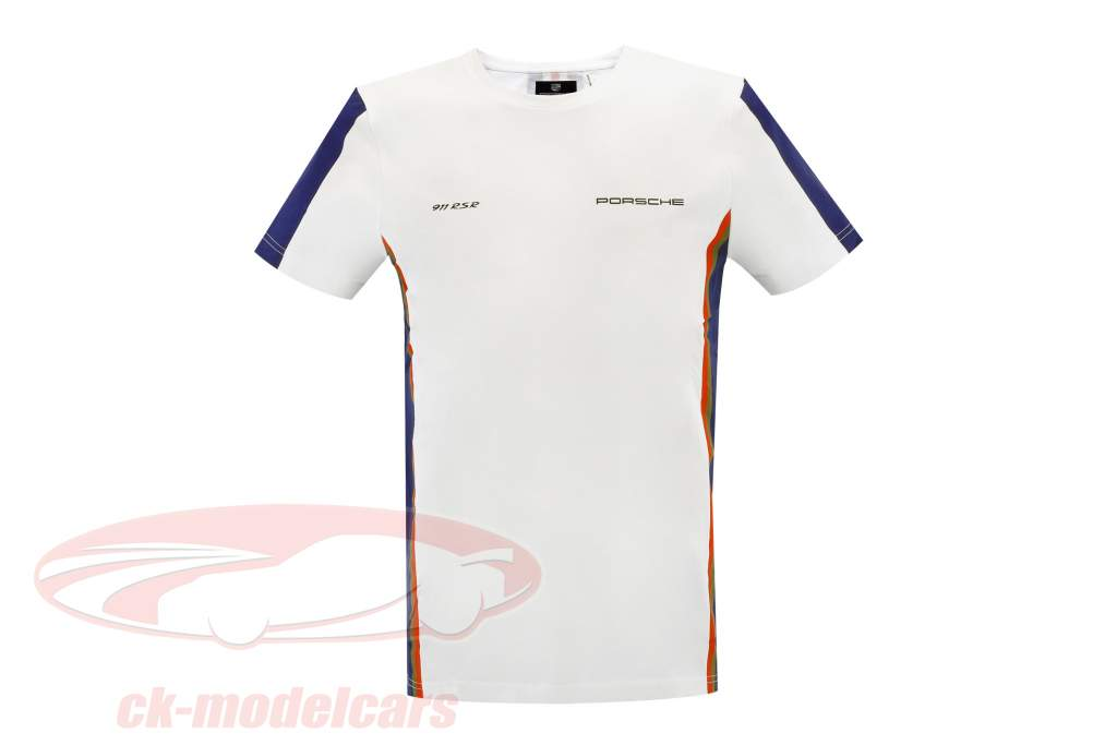 T-Shirt Porsche 911 / 956 LeMans Rothmans Design branco