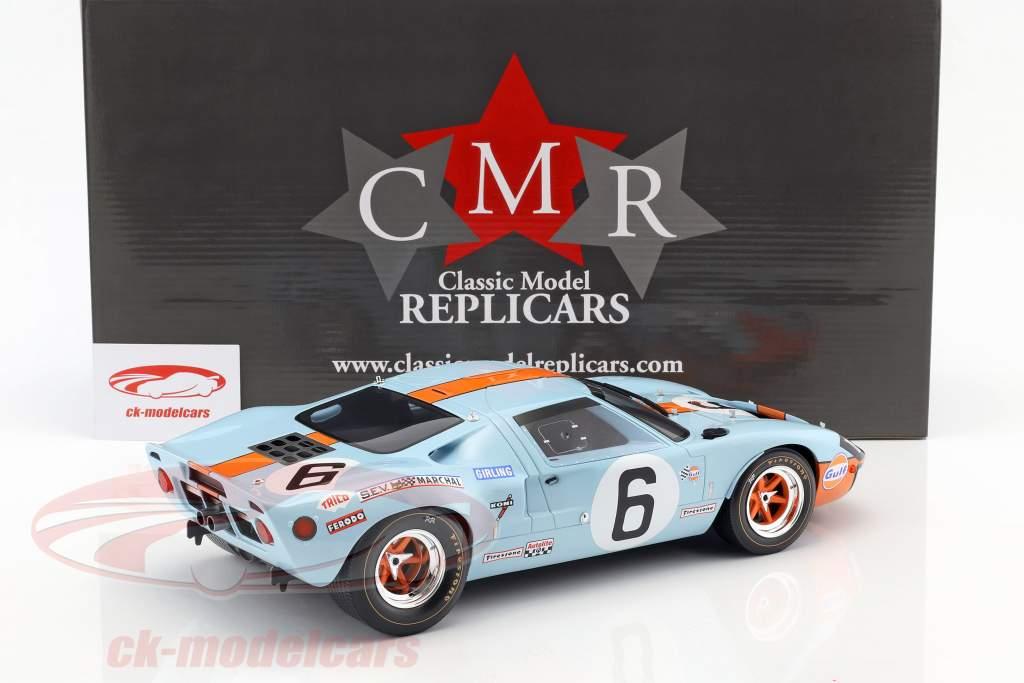Ford GT40 Mk I #6 vincitore 24h LeMans 1969 Ickx, Oliver 1:12 CMR