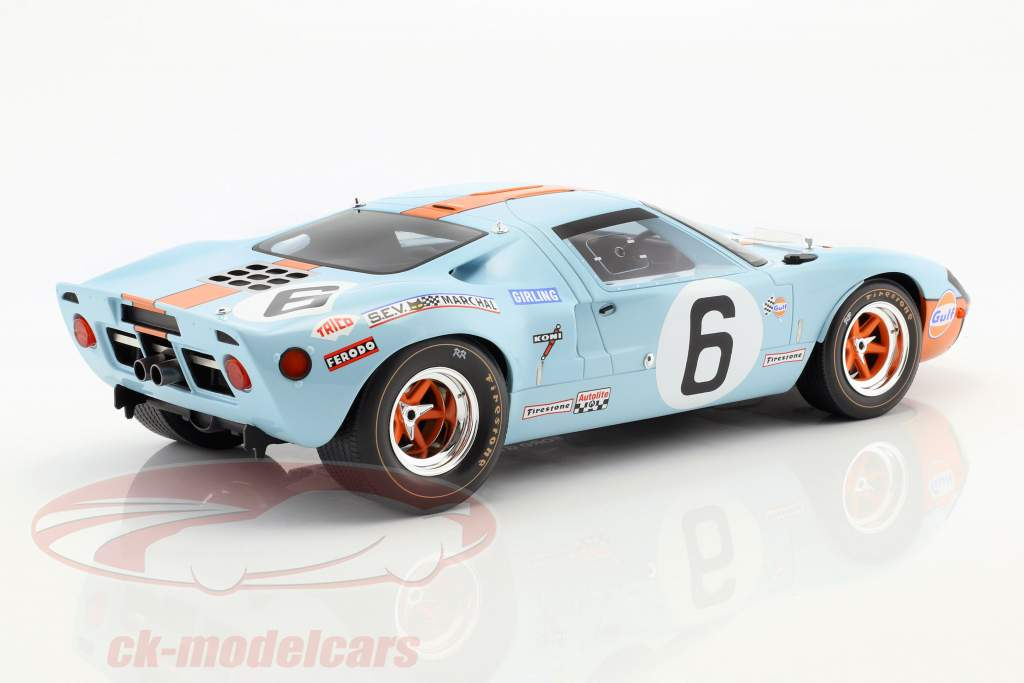 Ford GT40 Mk I #6 Winner 24h LeMans 1969 Ickx, Oliver 1:12 CMR