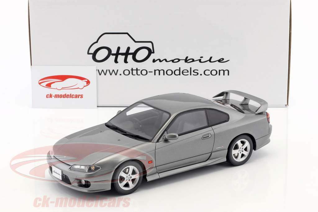 Nissan Silvia spec-R AERO (S15) year 1999 sparkling silver 1:18 OttOmobile