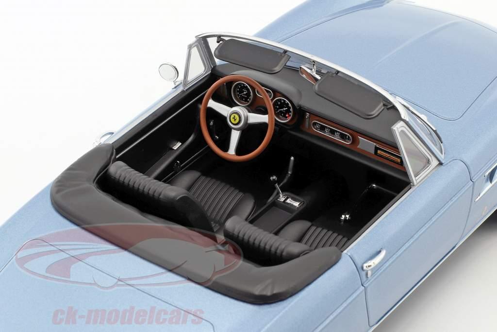 Ferrari 275 GTS/4 Pininfarina Spyder com falou rodas ano de construção 1964 luz azul metálico 1:18 KK-Scale