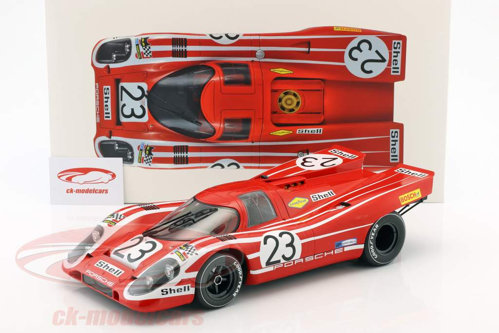 Porsche 917K #23 vincitore 24h LeMans 1970 Attwood, Herrmann 1:12 Norev