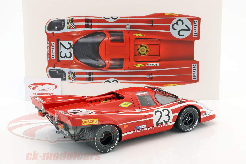 Porsche 917K #23 winnaar 24h LeMans 1970 Attwood, Herrmann 1:12 Norev