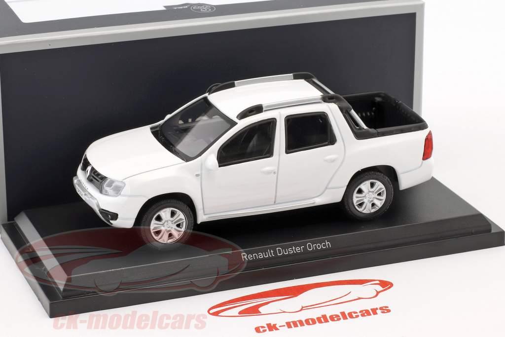 Renault Duster Oroch année de construction 2015 blanc 1:43 Norev