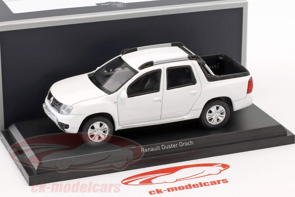 Renault Duster Oroch Opførselsår 2015 hvid 1:43 Norev