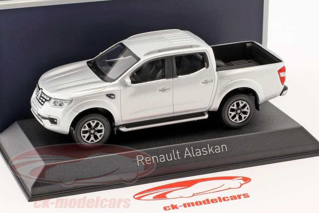 Renault Alaskan Pick-Up ano de construção 2017 prata 1:43 Norev