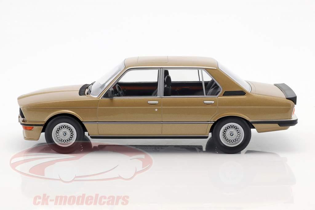 BMW M535i E12 anno di costruzione 1980 oro metallico 1:18 Norev
