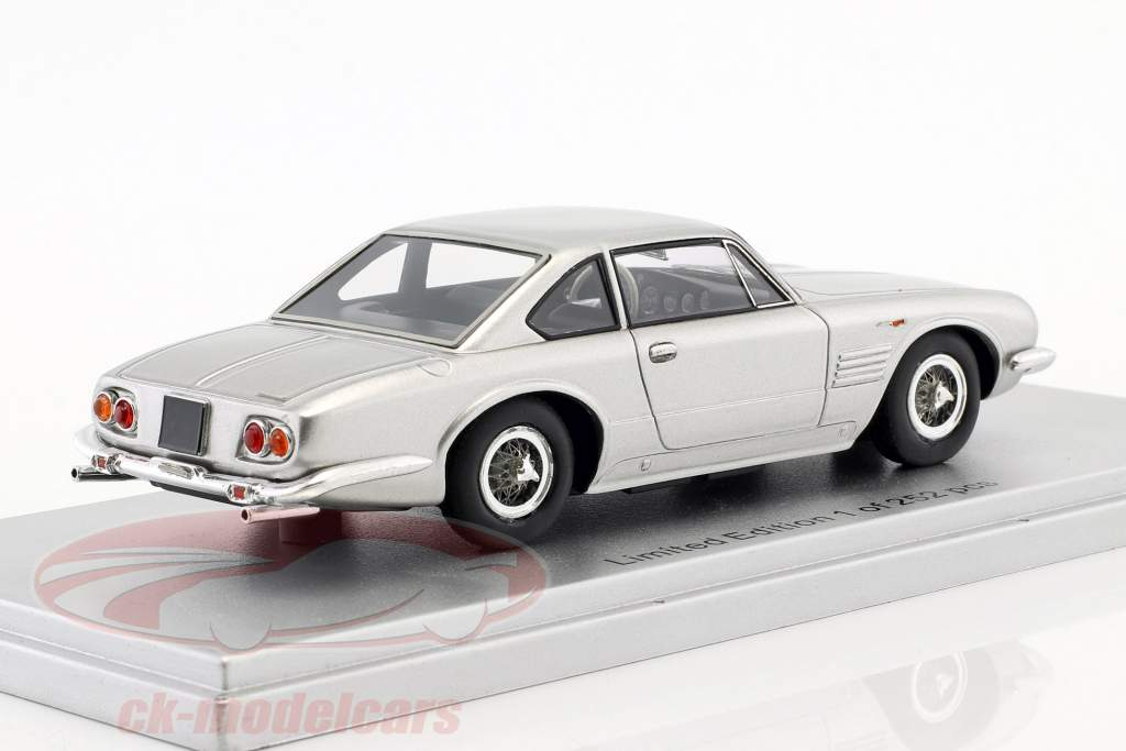 Maserati 5000 GT Ghia Personal car F. Innocenti ano de construção 1961 prata 1:43 KESS