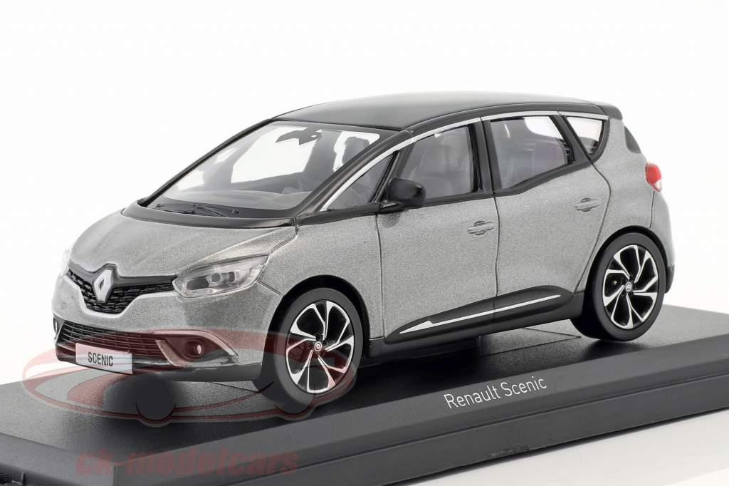 Renault Scenic año de construcción 2016 cassiopee gris / negro 1:43 Norev