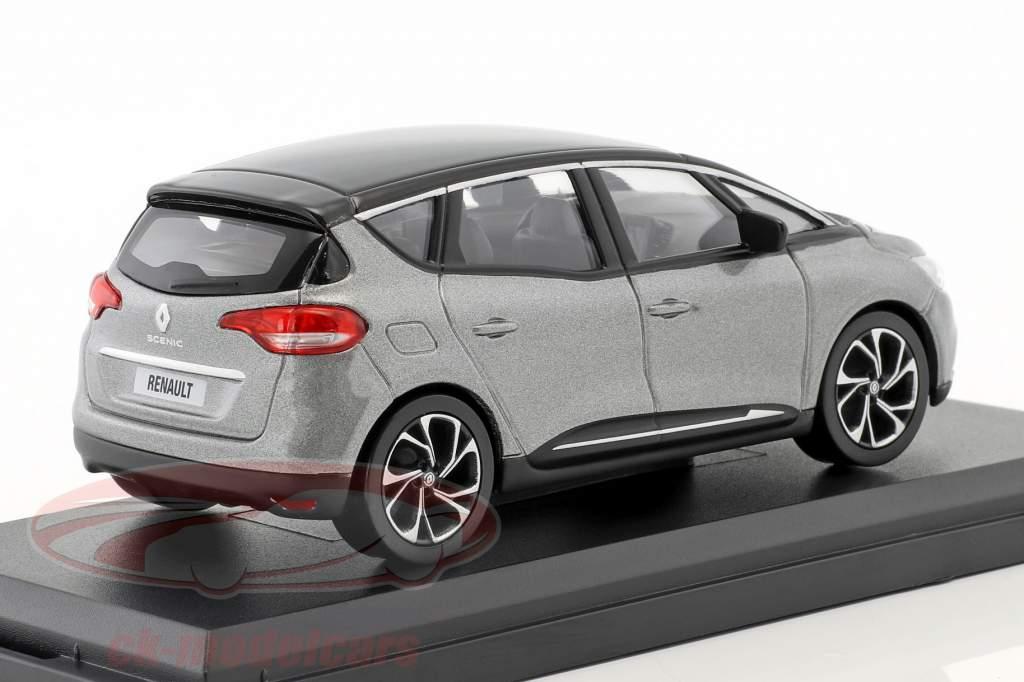 Renault Scenic année de construction 2016 cassiopee gris / noir 1:43 Norev