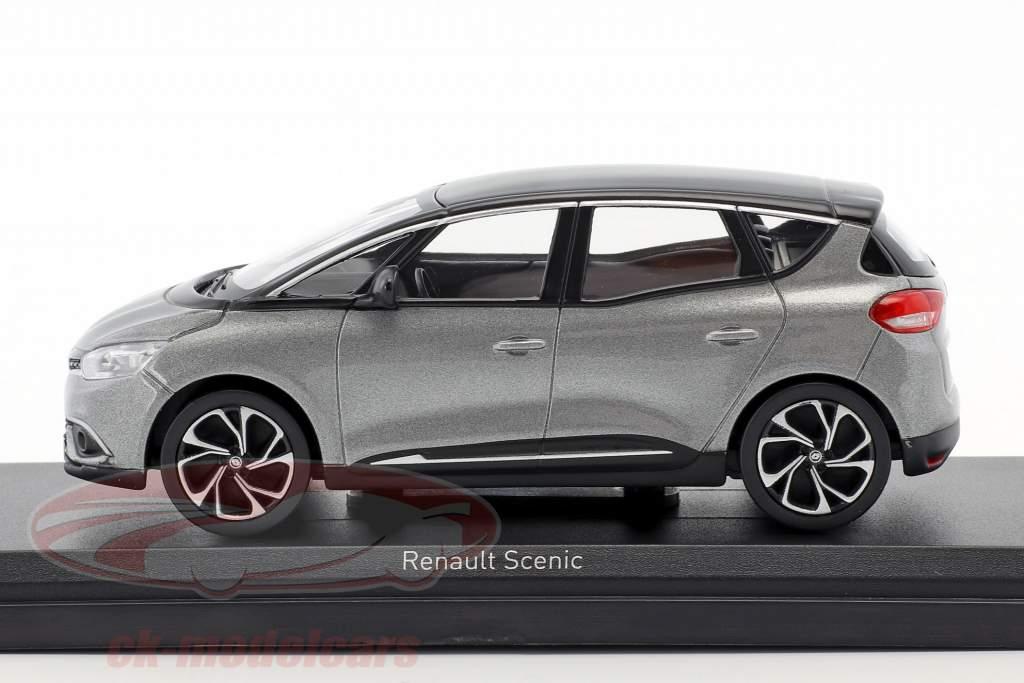 Renault Scenic ano de construção 2016 cassiopee cinza / preto 1:43 Norev