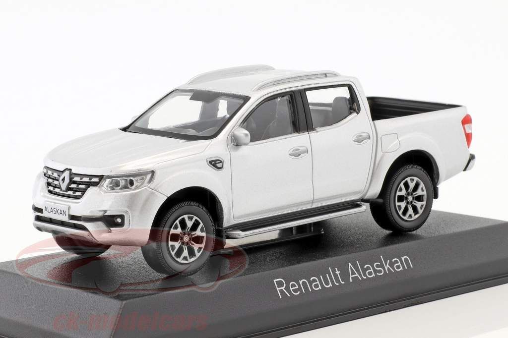 Renault Alaskan Pick-Up Opførselsår 2017 sølv 1:43 Norev