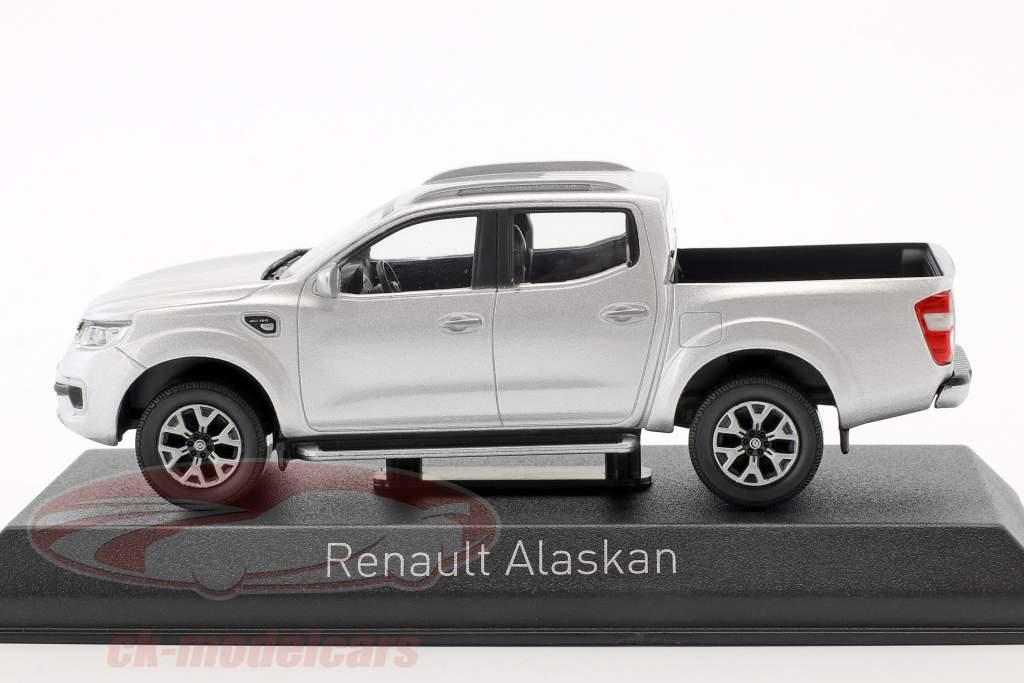 Renault Alaskan Pick-Up année de construction 2017 argent 1:43 Norev
