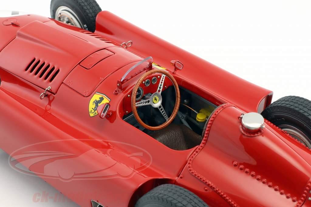 Juan Manuel Fangio Ferrari D50 #1 Vinder britisk GP verdensmester formel 1 1956 1:18 CMC