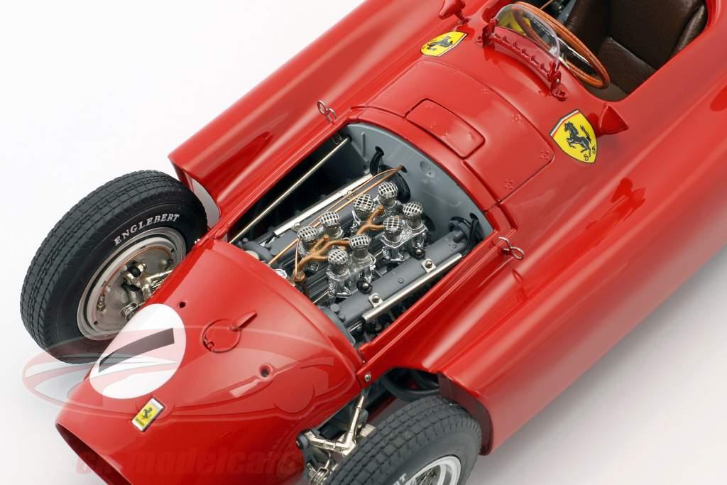 Juan Manuel Fangio Ferrari D50 #1 winnaar Brits GP wereldkampioen formule 1 1956 1:18 CMC