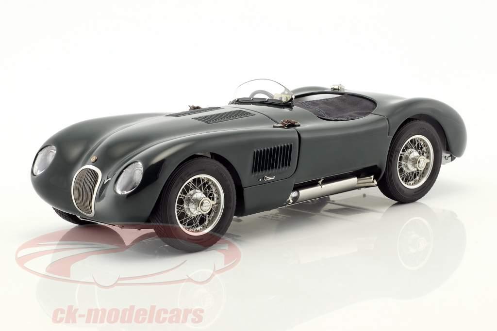 Jaguar C-Type anno di costruzione 1952-1953 British Racing verde 1:18 CMC