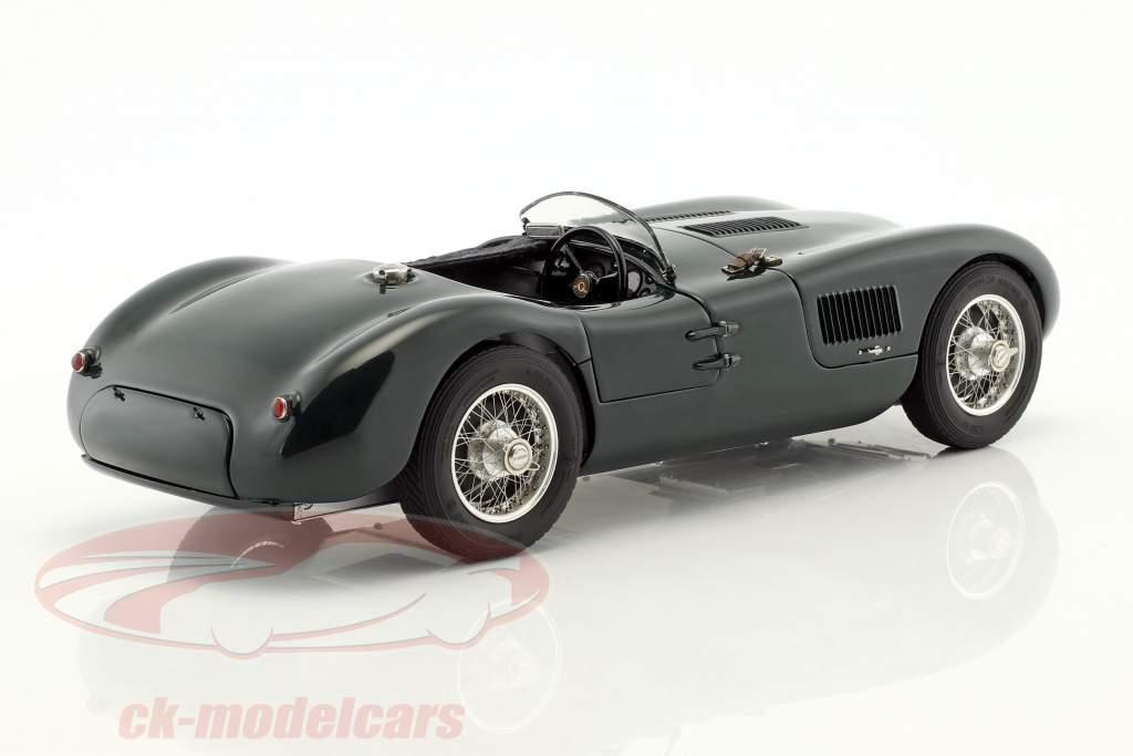 Jaguar C-Type 築 1952-1953 British Racing グリーン 1:18 CMC