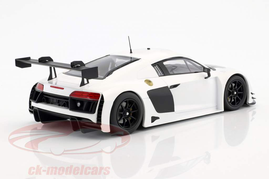 Audi R8 LMS Ultra año 2015 Plain Body Edition blanco 1:18 Minichamps