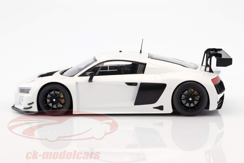 Audi R8 LMS Ultra ano 2015 Plain Body Edition branco 1:18 Minichamps