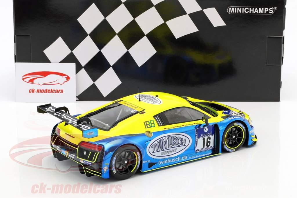 Audi R8 LMS #16 24h Nürburgring 2016 Twin Busch Motorsport 1:18 Minichamps