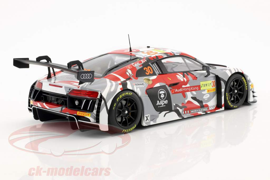 Audi R8 LMS #30 FIA GT World Cup Macau 2015 Marchy Lee 1:18 Minichamps