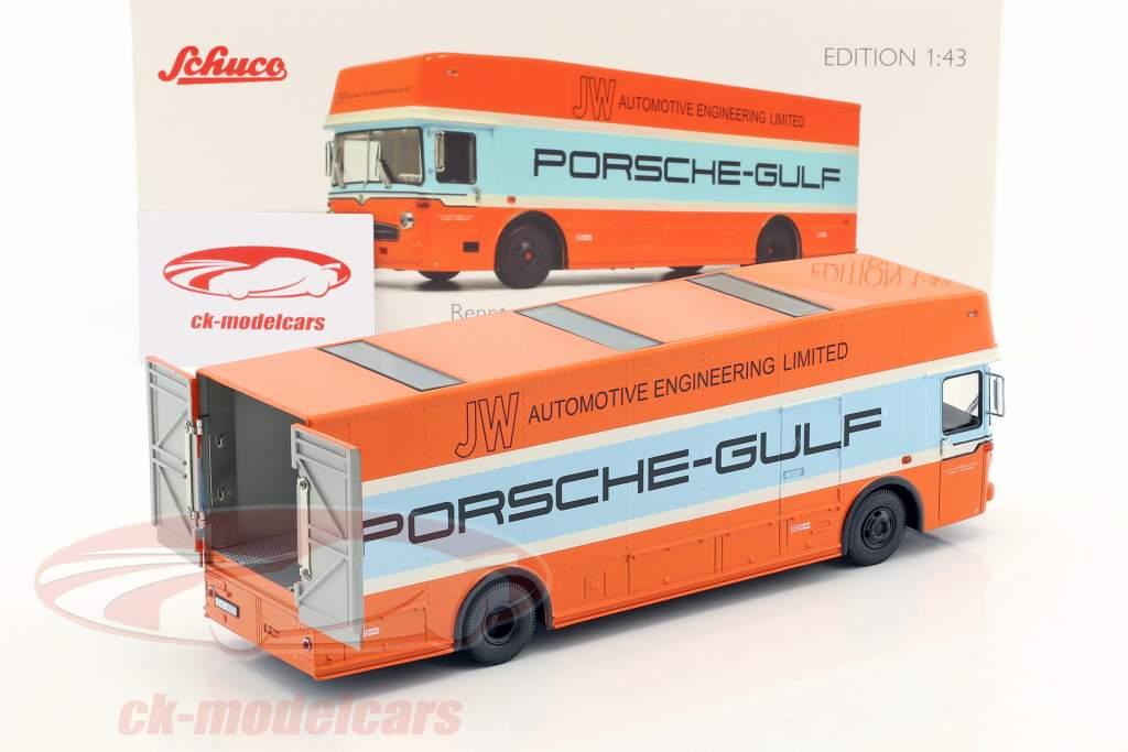 Mercedes-Benz O 317 Porsche Gulf gara camion anno di costruzione 1968 1:43 Schuco