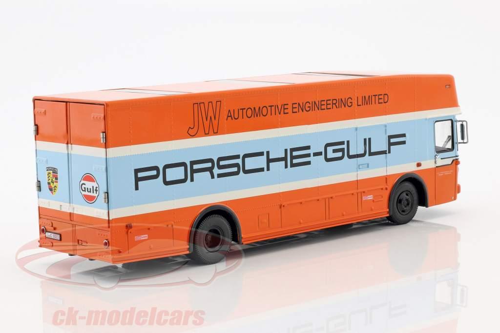 Mercedes-Benz O 317 Porsche Gulf løb lastbil Opførselsår 1968 1:43 Schuco