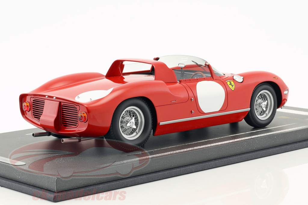 Ferrari 250 P Press version 1963 rosso corsa 1:18 BBR
