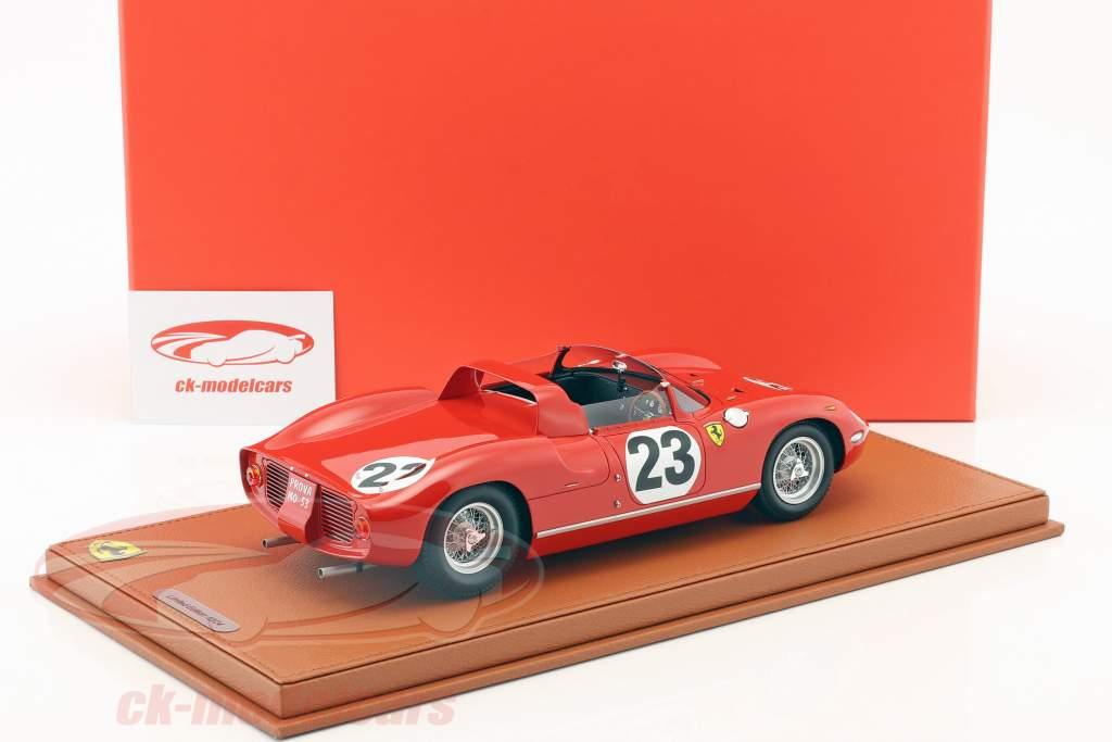 Ferrari 250 P #23 24h Le Mans 1963 Surtees, Mairesse con escaparate 1:18 BBR