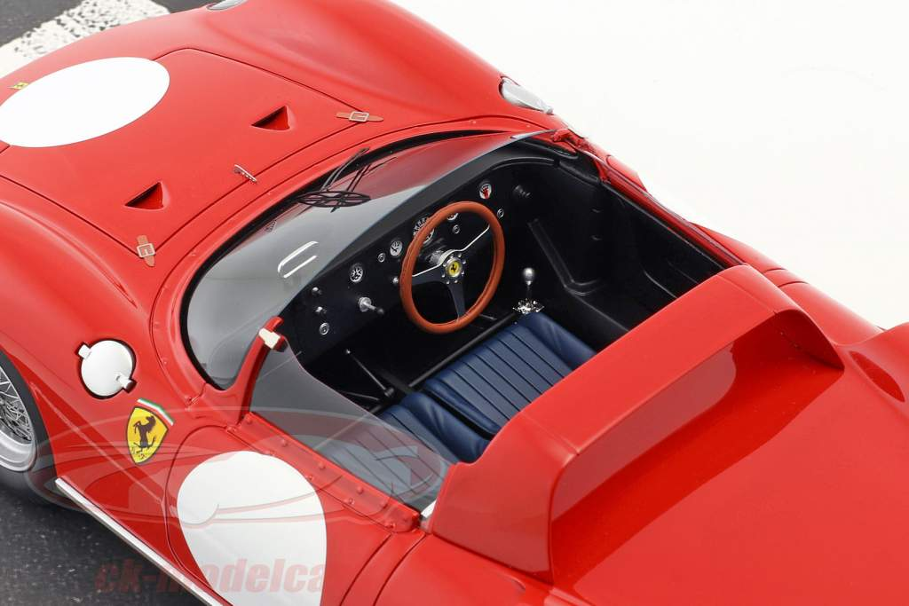 Ferrari 250 P Tryk udgave 1963 rosso corsa 1:18 BBR