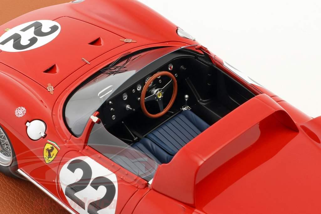 Ferrari 250 P #22 3 ° 24h LeMans 1963 Parkes, Maglioli con vetrina 1:18 BBR