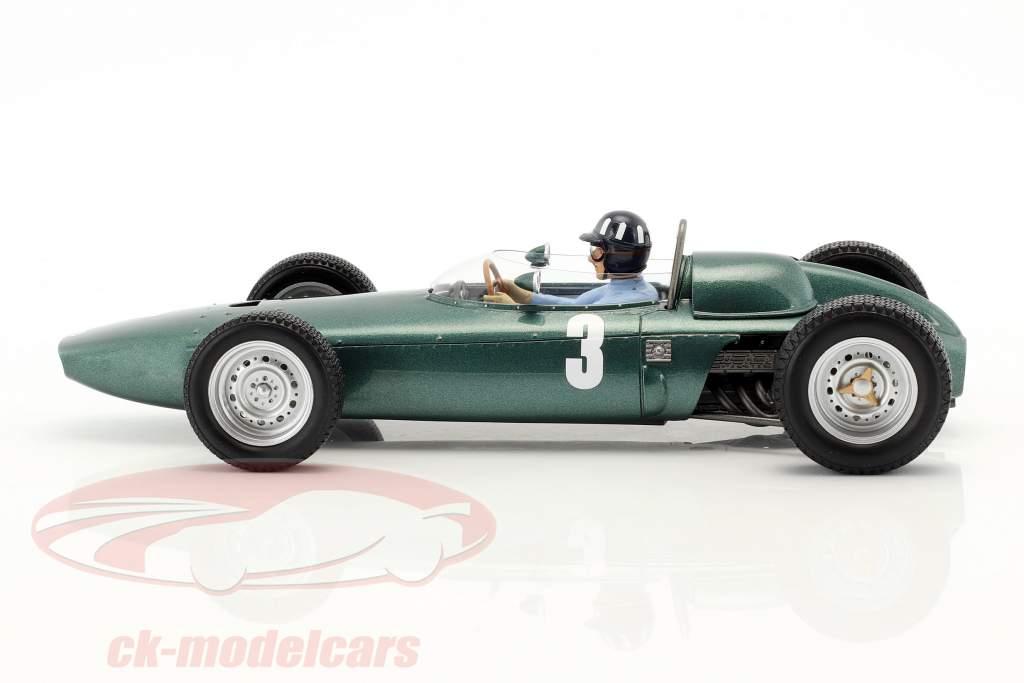 Graham Hill BRM P57 #3 wereldkampioen Zuid-Afrika GP formule 1 1962 1:18 Spark