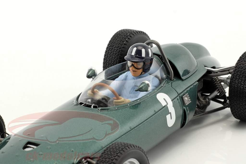 Graham Hill BRM P57 #3 campeón del mundo Sudáfrica GP fórmula 1 1962 1:18 Spark