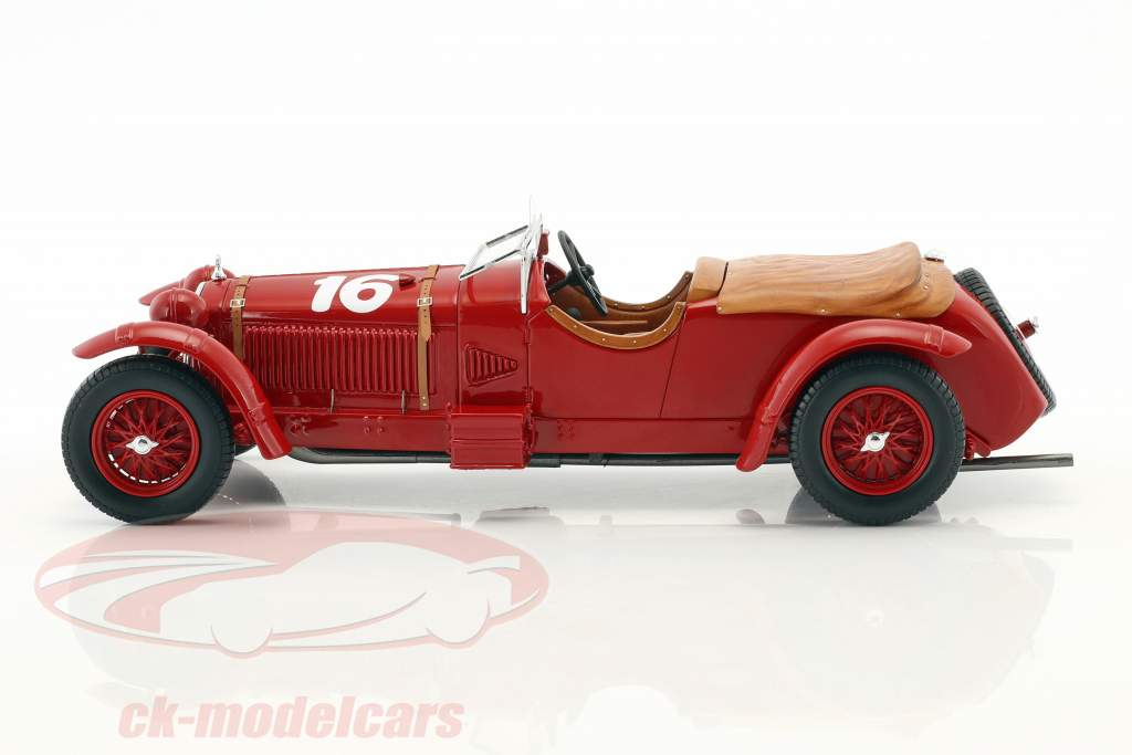 Alfa Romeo 8C 2300 LM #16 vencedor 24h LeMans 1931 Howe, Birkin 1:18 Spark