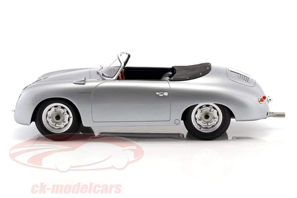 Porsche 356 Carrera Speedster année de construction 1956 argent 1:12 Spark