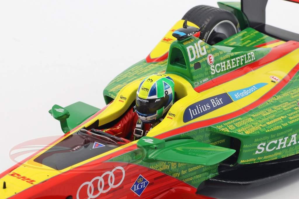 Lucas di Grassi Abt Schaeffler FE02 #11 fórmula E campeão temporada 3 2016/17 1:18 Spark