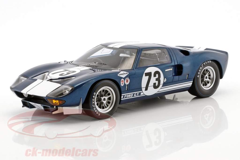 Ford GT40 #73 winnaar Daytona 2000km 1965 Miles, Ruby 1:18 Spark